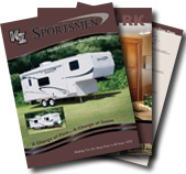 KZ 2008 Sportsmen & Sportsmen LX Travel Trailers and Fifth Wheels